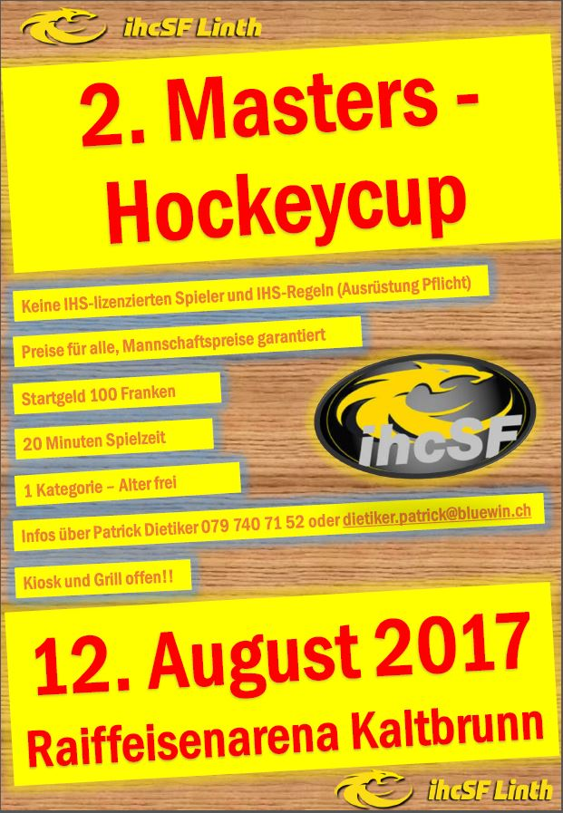 2.Masters Hockeycup