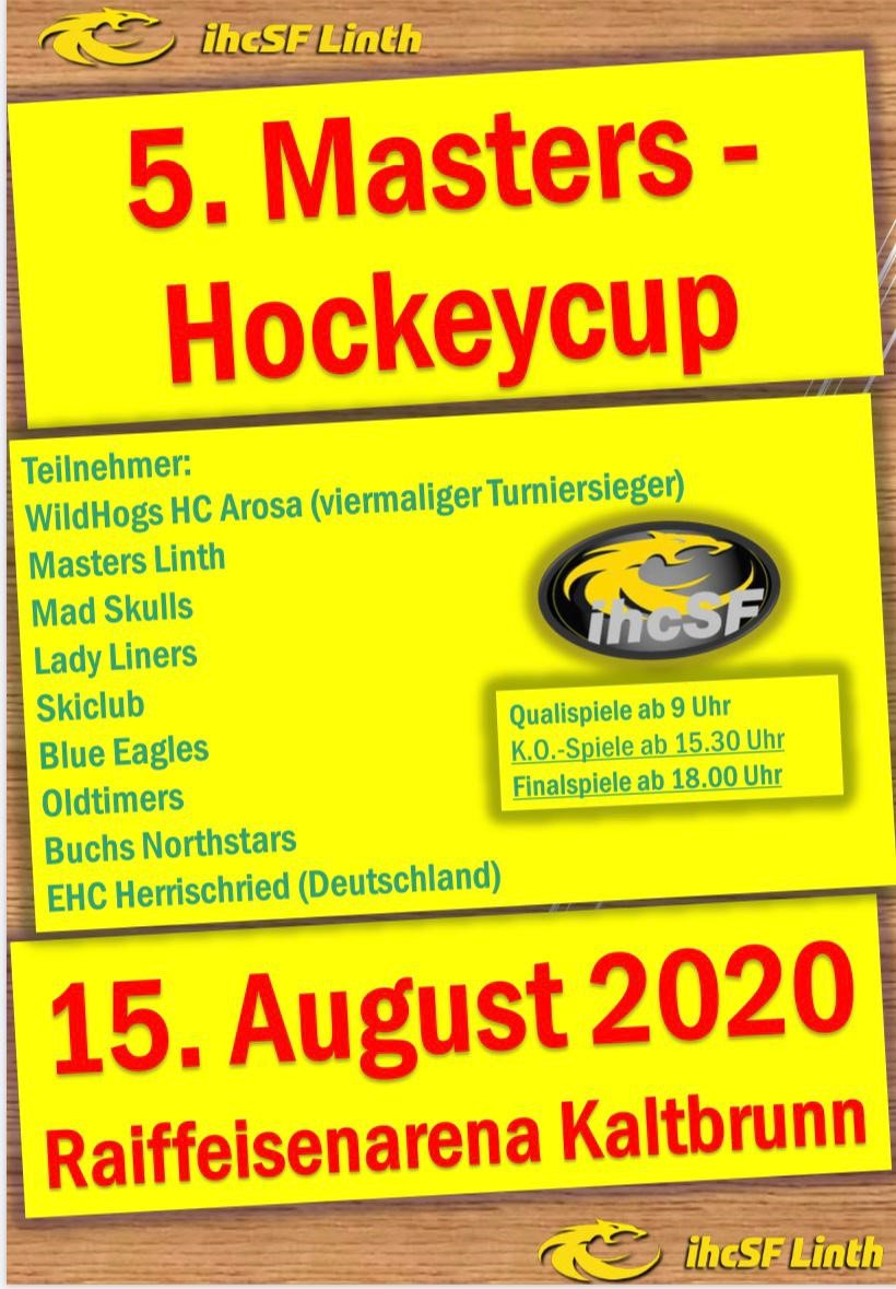 5. Masters Hockeycup 2020